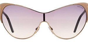 Tom Ford Tom Ford Vanda Cat Eye Sunglasses In Pink New