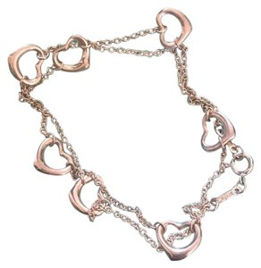 Tiffany & Co. Lux60 for 10% off. Elsa Peretti Open Heart Necklace