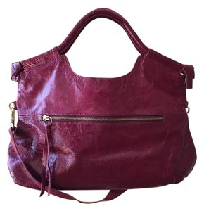 Foley + Corinna Textured Tote in Raspberry pink