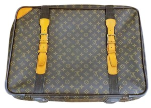 Louis Vuitton Lugguage Satelitte Brown Monogram Travel Bag