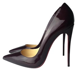 Christian Louboutin Heels 10 10.5 So Kate 11 Rouge Noir Pumps