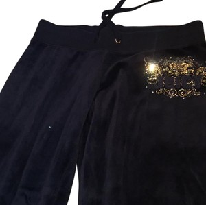 Juicy Couture Straight Pants navy