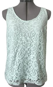 H&M Recycled Sustainable Lace Top Mint green