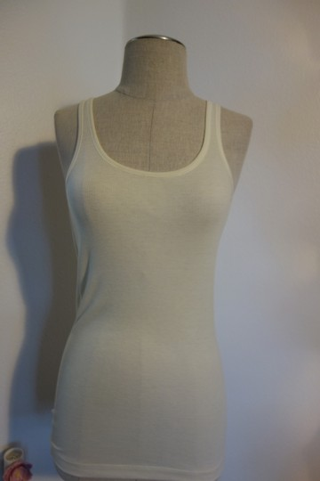 White and Ivory Bride Tank Top