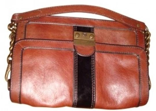 Preload https://item4.tradesy.com/images/fossil-patent-stripe-on-soft-heavy-removable-chain-strap-with-12-brown-black-leather-shoulder-bag-156618-0-0.jpg?width=440&height=440