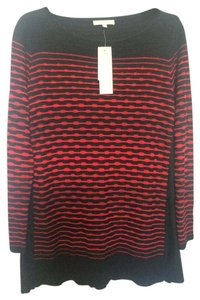 Other Red Black Mosaic Sweater