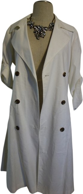 American Living Blazer Long Perfect One Of A Kind Coat Oversized Coat Overall Coat Summer Coat Spring Coat White Jacket