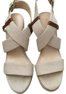 Banana Republic Linen Wedges