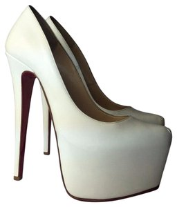 Christian Louboutin Daffodile 5 white Pumps