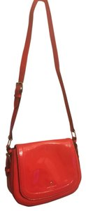 Kate Spade Patent Leather Messenger Cross Body Bag