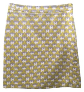 Banana Republic Skirt Yellowish/Green