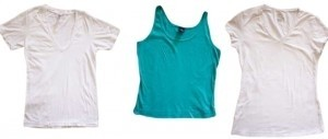 Gap American Apparel Tank T-shirt Set T Shirt White, turquoise