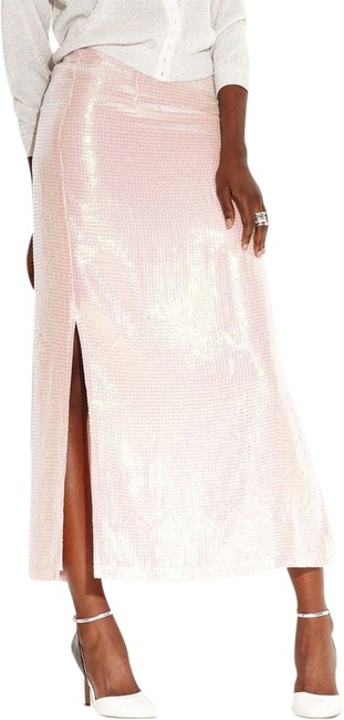 MADE Fashion Week for Impulse Maxi Skirt Light Pink