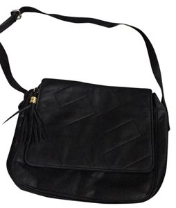 Fendi black Messenger Bag