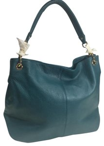 Cuore & Pelle Teal Shoulder Bag