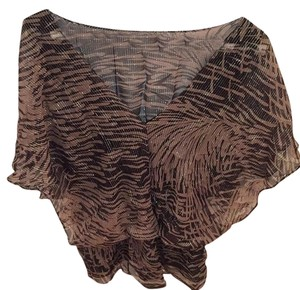 MM Couture Top Black, Brown, Silver