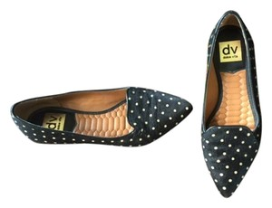 DV by Dolce Vita Calf-hair Polka Dot Black / Tan Flats