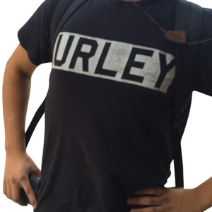 Hurley T Shirt Black and blue