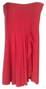 Ann Taylor short dress Coral on Tradesy