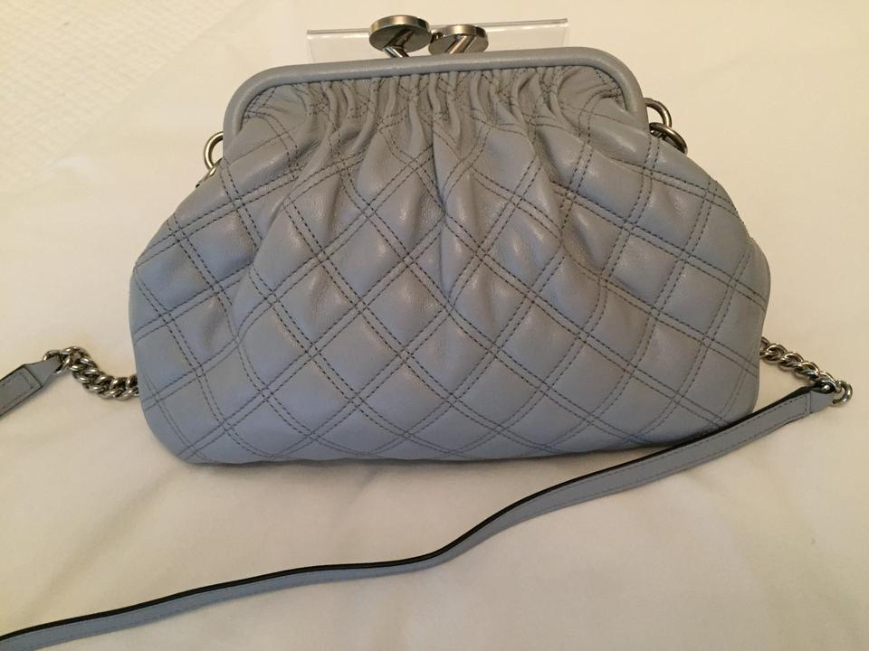 Bag Leather Quilted Cross Gray Jacobs Marc Body Little wxq001