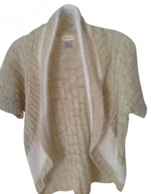 Preload https://img-static.tradesy.com/item/156658/anthropologie-cream-and-gold-sweaterpullover-size-6-s-0-0-650-650.jpg