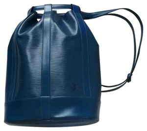 5d22f124a67a Added to Shopping Bag. Louis Vuitton Backpack. Louis Vuitton One Shoulder Blue  Epi Leather Backpack