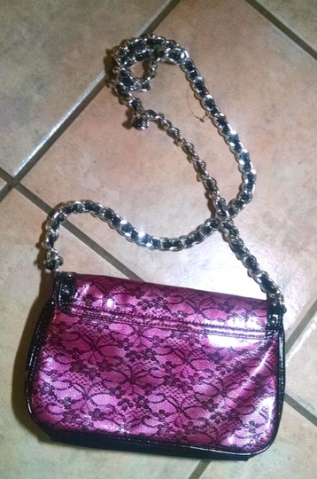 Betsey Johnson Hand Plastic Clean No Wear Small Medium Shoulder Bag