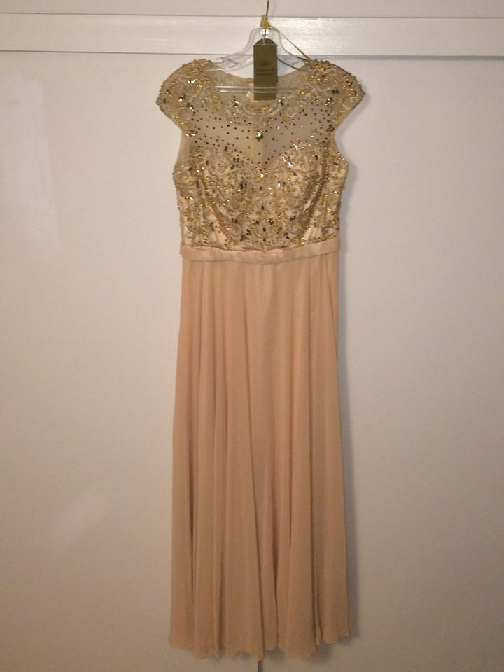 Aspeed Designs Dusty Rose Gold (Champagne) L1346 Long Formal Dress ...
