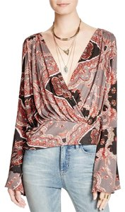 Free People Top Paisley Print