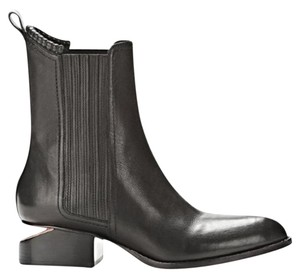 Alexander Wang Black with Rose Gold Boots