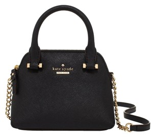Kate Spade Leather Gold Maise New Cross Body Bag