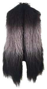 Laundry by Shelli Segal Ombre Faux Fur Long Vest