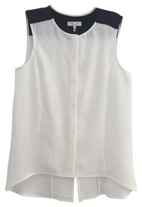 Rag & Bone Top white with black