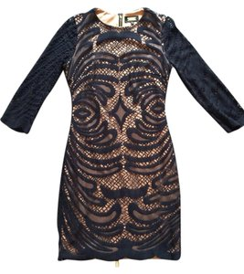 Alexia Admor Bodycon Lace And Nude Dress