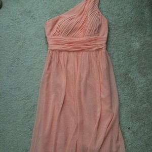 Donna Morgan Peach Dress