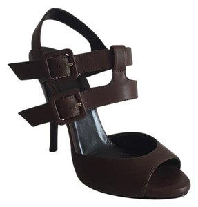 Pierre Hardy Brown Platforms