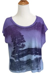 Truly Madly Deeply T Shirt Purple and blue