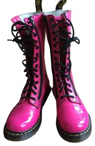 Doc Martin's Hot pink Boots