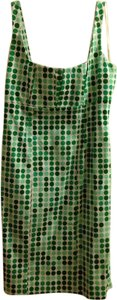 Calvin Klein short dress Green/white on Tradesy