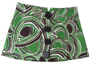 Tibi Mini Skirt Green