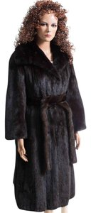 New York Made Custom Design Mink Mink Fur Coat