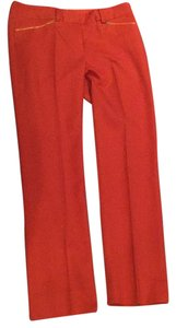 T Tahari Straight Pants Orange