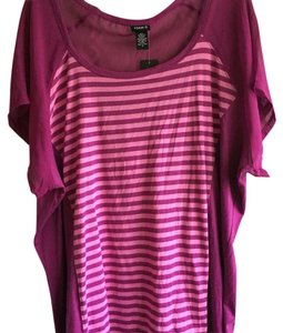 Torrid Top Pink & purple