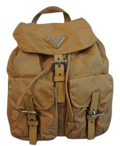 11cefea0f8 Beige Prada Backpacks - Up to 90% off at Tradesy