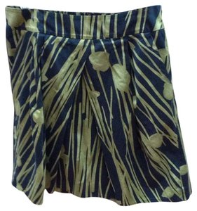Kenneth Cole Reaction Skirt Black, green