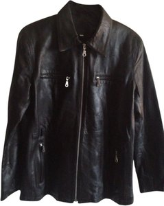Vakko Sport Leather Jacket