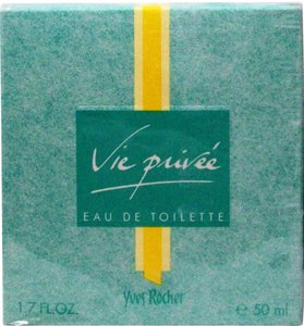 Yves Rocher New Sealed Eau de Toilette 50 ml/ 1.7 oz Vie Privee Made in France