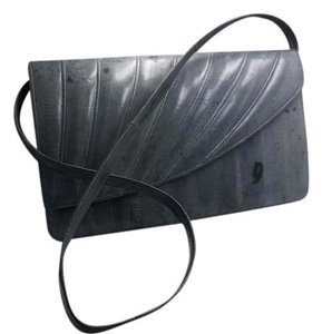 Strap Free Shipping Gray Clutch
