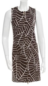 Tory Burch short dress Brown Flattering on Tradesy