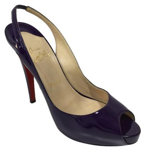 Christian Louboutin 10 9.5 Purple Pumps